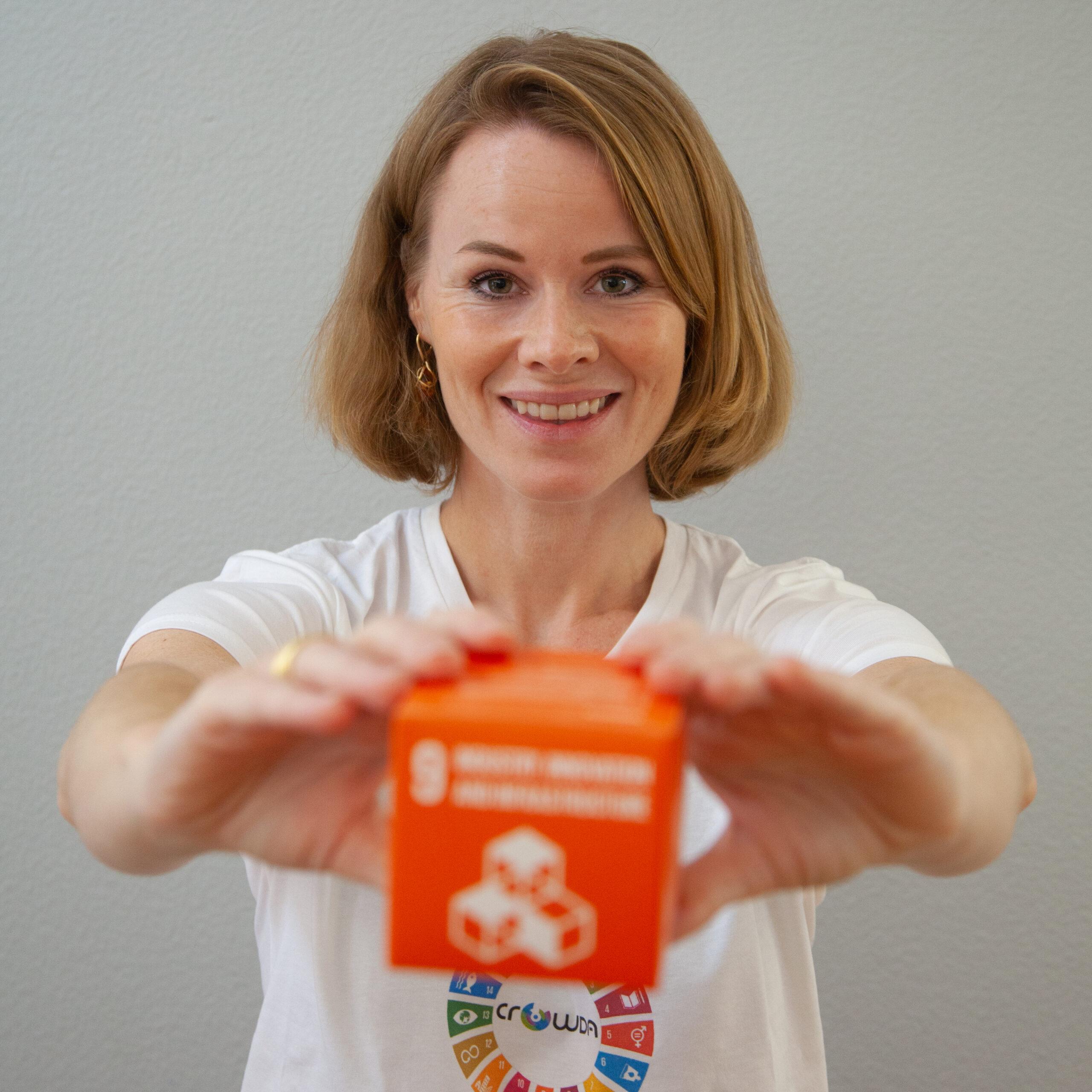 Das Crowda Team Katharina Bruchhaus